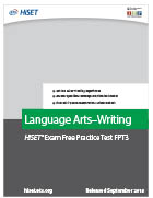 Language Arts – Writing Practice Test (FPT3)