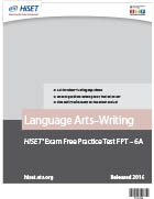 Language Arts – Writing Practice Test (FPT6A)