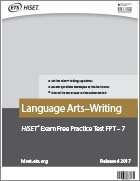 Language Arts – Writing Practice Test (FPT7)