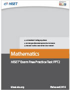 Mathematics Practice Test (FPT2)