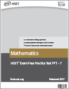 Mathematics Practice Test (FPT7)