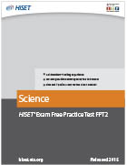 Science Practice Test (FPT2)