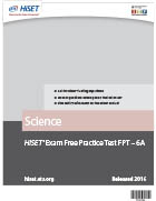 Science Practice Test (FPT6A)