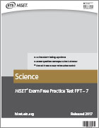 Science Practice Test (FPT7)
